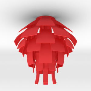 artichoke-lamp-red